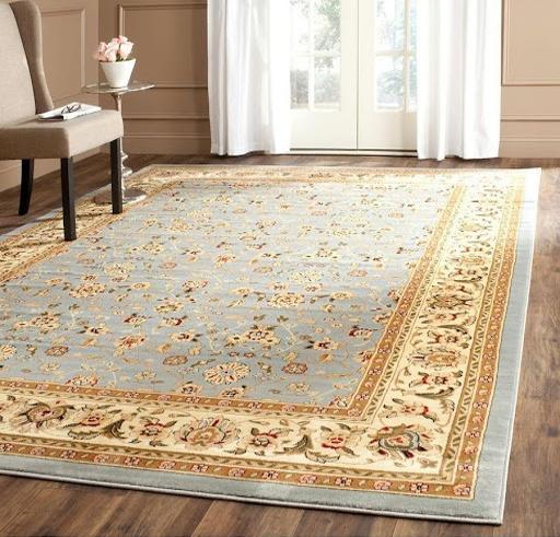 فرش ماشینی ابریشم طبیعی