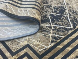 فرش مدرن مشکی