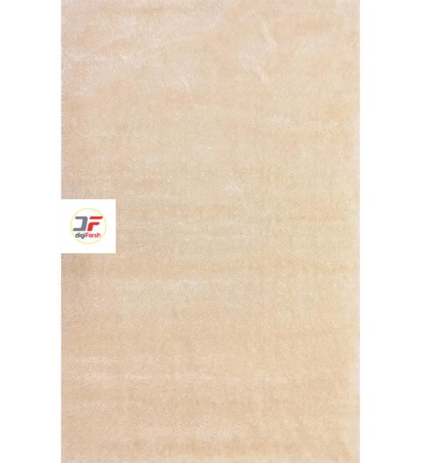 فرش شگی مدرن کاشان طرح زمینه کرم کد 5013