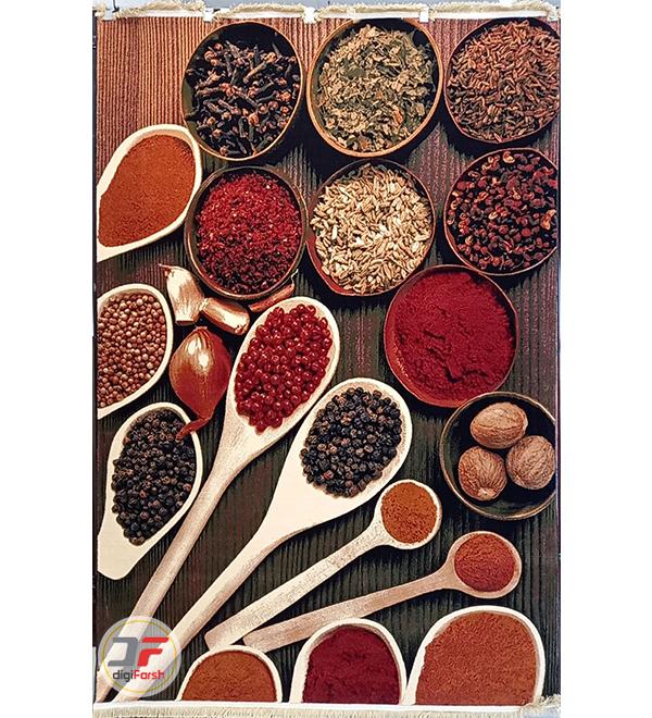 عکس از تمام فرش ماشینی آشپزخانه کد 093
