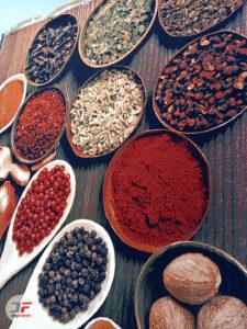 نمای از کنار فرش ماشینی آشپزخانه کد 093