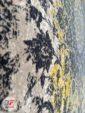 فرش فانتزی و مدرن گل برجسته طرح پتینه زمینه بژ کد 11-822