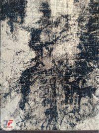 یک چهارم از فرش وینتیج گل برجسته کد 12-829