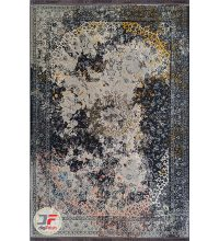 کل فرش ماشینی مدرن و فانتزی کهنه نما گل برجسته کد 13-806