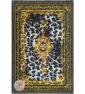فرش مدرن وینتیج ماشینی زمینه طلایی کرم کد 11-828