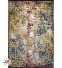 روی فرش ماشینی مدرن و فانتزی طرح وینتیج گل برجسته کد 21-870