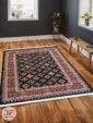 فرش سنتی زمینه سرمه ای کد 104 داخل دکوراسیون