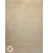 فرش فانتزی مدرن پرزبلند (فلوکاتی) زمینه سفید (کرم) کد 07