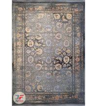 روی فرش ماشینی مدرن و فانتزی طرح وینتیج گل برجسته کد 8002