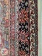 حاشیه فرش طرح قشقایی ماشینی زمینه کد 107