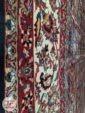 حاشیه فرش ماشینی سنتی زمینه سرمه ای کد 110