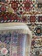 نمای پشت فرش طرح دستباف ماشینی زمینه کرم کد 108