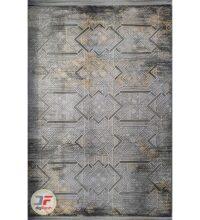 روی فرش ماشینی مدرن و فانتزی طرح وینتیج گل برجسته کد 125