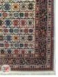 یک چهارم فرش ماشینی سنتی زمینه کرم کد 108
