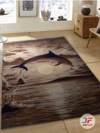 دکور فرش ماشینی طرح آشپزخانه سه بعدی کد 1341