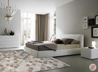نمای دکور فرش مدرن گبه ماشینی ارزان با زمینه خاکستری کد 530