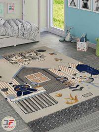 فرش ماشینی طرح کودک