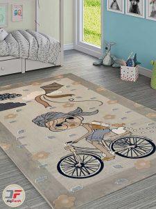 فرش طرح کودک سه بعدی