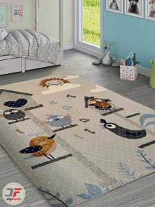 فرش ماشینی فانتزی کودک