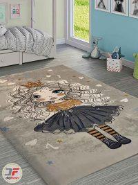 فرش طرح کودک فانتزی