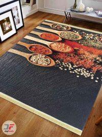 فرش مدرن طرح آشپزخانه سه بعدی