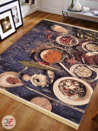 فرش ماشینی مدرن طرح آشپزخانه