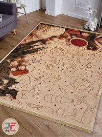 فرش ماشینی طرح آشپزخانه