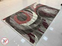 فرش ماشینی گل برجسته وینتیج