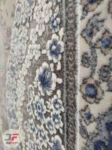 فرش پتینه گل برجسته