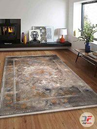 فرش گل برجسته مدرن